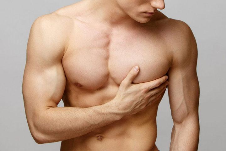 Zmenšenie prsníkov u mužov (gynekomastia)